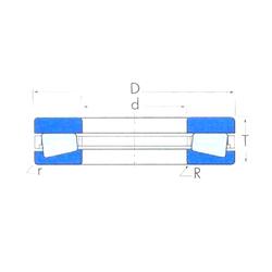 J Timken T30620 Thrust Roller Bearings
