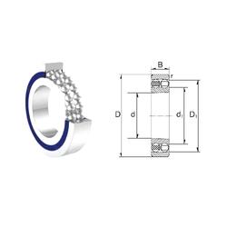 30 mm x 62 mm x 20 mm Brand ZEN 1203 Self Aligning Ball Bearings