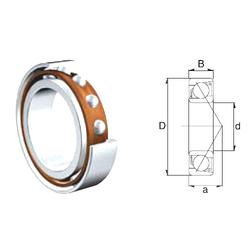 39,688 mm x 73,025 mm x 17,462 mm Basic dynamic load rating (C) ZEN S7307B Angular Contact Ball Bearings